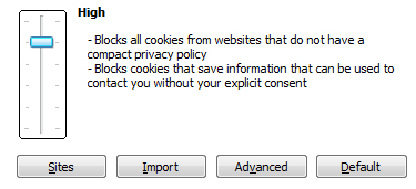Enabling Cookies in Internet Explorer 8.0